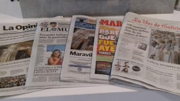 Prensa diaria.